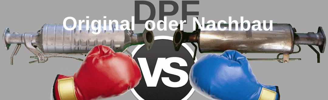 DPF Originalfilter oder Nachbau
