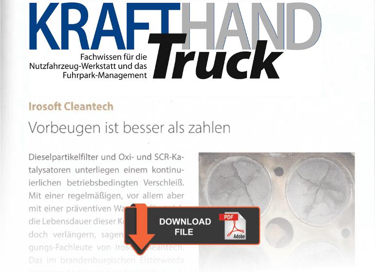 Beitrag KrafHand - Oxi- und SCR-Katalysatoren
