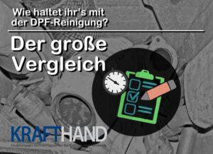 Krafthand der Grosse DPF-Reinigung Vergleich