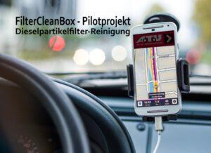 FilterCleanBox - Pilotprojekt Dieselpartikelfilter-Reinigung