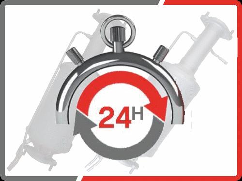 Dieselpartikelfilter Reinigung 24h